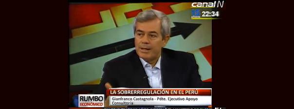 Economía peruana crecerá solo 3.8% en el 2014 pero próximo año sería mejor