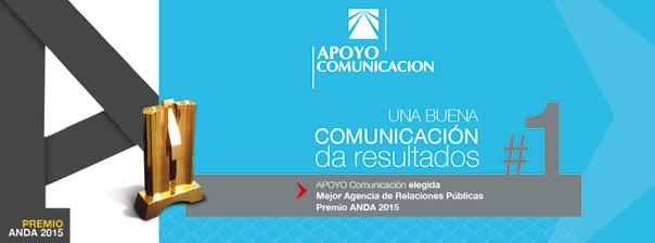 APOYO Comunicación obtiene premio ANDA a la mejor Agencia de Relaciones Públicas