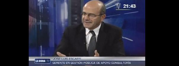 Entrevista a José Luis Escaffi